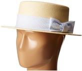 Vineyard Vines Kentucky Derby Seersucker Straw Derby Hat