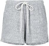 Bassike french terry cuffed beach shorts