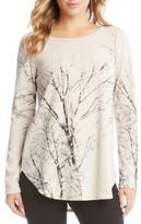 Karen Kane Women's Kane Kane Tree Print Sweater