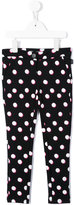 Little Marc Jacobs polka dot printed trousers