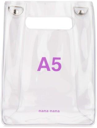 Nana-Nana A5 Build-In Handle Shoulder Bag