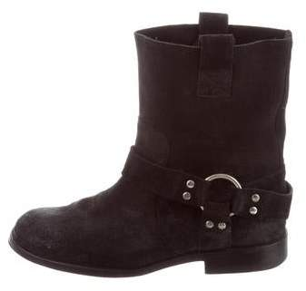 Maison Margiela Distressed Ankle Boots