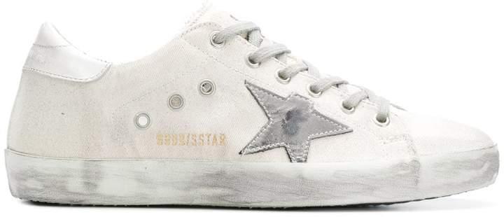 Golden Goose star patchwork sneakers