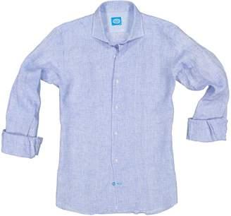 Panareha Fiji Linen Shirt In Blue