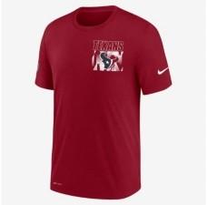 Nike Men's Houston Texans Dri-Fit Cotton Facility T-shirt