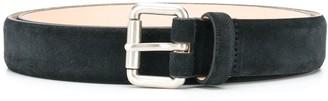 Closed Logo Printed Buckled Belt