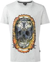 Just Cavalli skull print T-shirt - men - Cotton - M