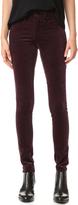 Rag & Bone Skinny Velour Jeans