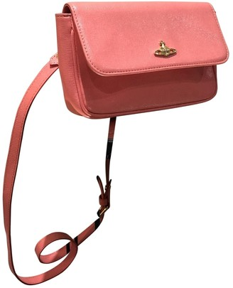 Vivienne Westwood Pink Leather Clutch bags