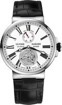Ulysse Nardin 1183-122/40 Marine Tourbillon stainless steel watch