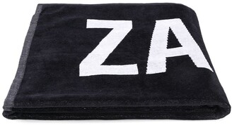 Zadig & Voltaire Kids Logo-Print Cotton Towel