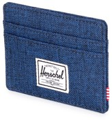 Herschel Men's Charlie Card Case - Blue