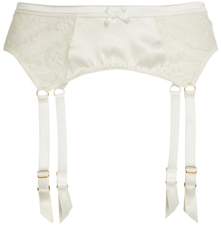 KATHERINE HAMILTON Lace Sophia Suspender Belt