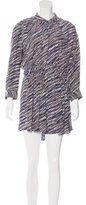 Thakoon Striped Silk Dress