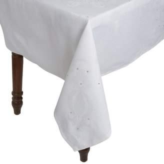 Le Jacquard Français Le Jacquard Francais Swarvoski Crystal-Embellished Venezia Tablecloth 175cm x 320cm