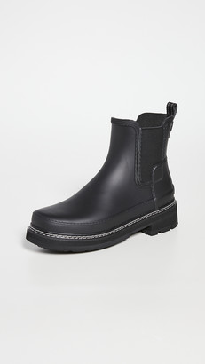 Hunter Refined Chelsea Stitch Detail Wellington Boots