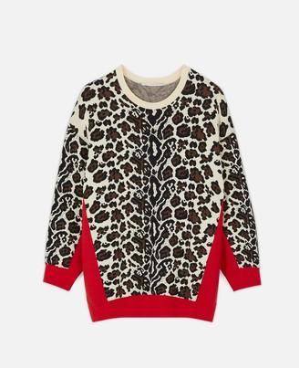 Stella McCartney Animal Jacquard Sweater, Women's