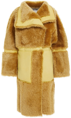 Acne Studios Two-tone Shearling Coat