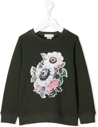 Stella McCartney Flower Bouquet Print Sweatshirt