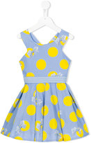 Lapin House - polka dot print dress - kids - Cotton/Spandex/Elastane - 6 yrs