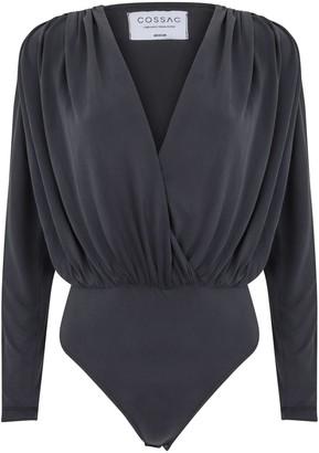 Cossac - Long Sleeve Bodysuit - S / Black