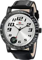 Seapro Men's SP5110 Raceway Analog Display Quartz Black Watch