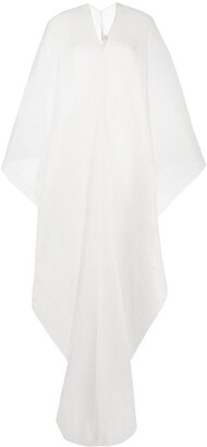 Pleats Please Issey Miyake Two-Tone Pleated Tunic