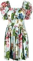 Dolce & Gabbana floral print short dress