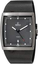Obaku Men's V102GDTJMJ Analog Display Analog Quartz Grey Watch