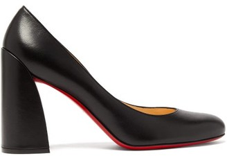 Christian Louboutin Miss Sab 85 Leather Pumps - Womens - Black
