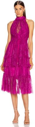 Alexis Magdalina Dress in Fuchsia   FWRD