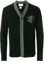 Pringle intarsia lion cardigan