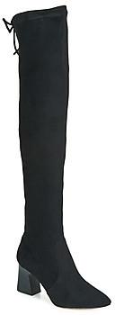 Elue par nous FITOU women's High Boots in Black