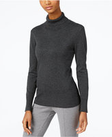Cable & Gauge Ribbed Turtleneck Sweater