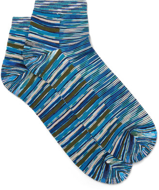 Missoni Space-Dyed Stretch-Cotton Blend Socks