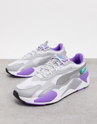 Puma Rs-X3 Mercedes sneakers in silver