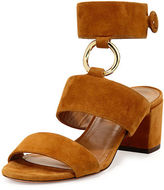 Aquazzura Safari Suede 50mm Sandal