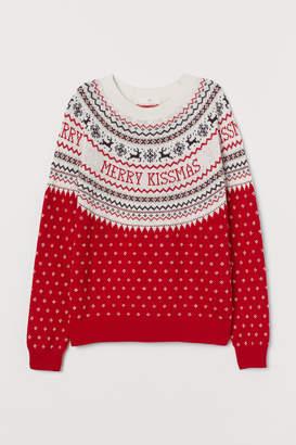 H&M Alpaca-blend Sweater - Red