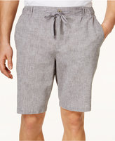 Tasso Elba Men's Drawstring Linen-Blend Shorts, Only at Macy's
