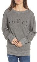 Current/Elliott Women's Heathered Slouchy Sweatshirt