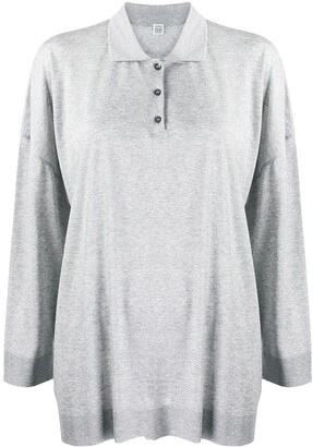 Totême Oversized Polo Shirt