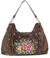 Nicole Lee Women's Adira Embroidery Garden Handbag
