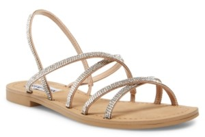 Steve Madden Rita Strappy Rhinestone Sandals