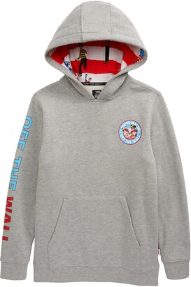 Vans x Where's Waldo? Kids' Graphic Pullover Hoodie