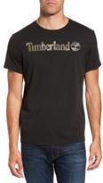 Timberland Men's Dunston River Camo Logo T-Shirt