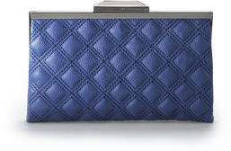 Rachel Roy Quilted Frame Clutch