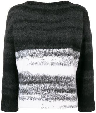 Dusan Oversized Gradient Sweater