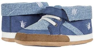Robeez Grayson Mini Shoez (Infant/Toddler) (Denim) Boys Shoes