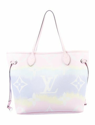 Louis Vuitton 2020 Monogram Escale Neverfull MM Pink