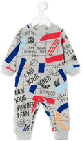 Kenzo printed body - kids - Cotton/Polyester - 1 mth
